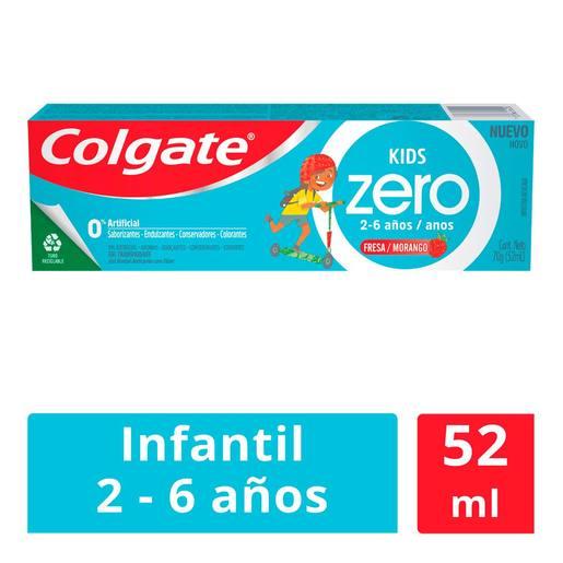 Chedraui: Pasta Dental Infantil Colgate Kids Zero Fresa 52ml