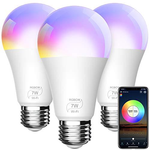 Amazon: Focos inteligentes RGB (3 focos)