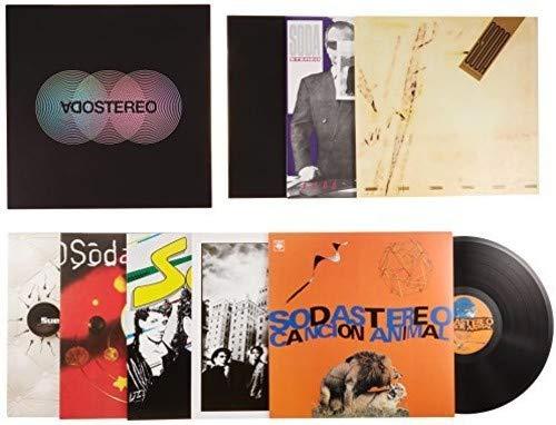AMAZON: Soda Stereo Box Set (Caja Negra) (Vinyl) Envío Gratis con Amazon Prime