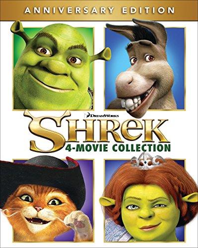 Amazon: Shrek Colección 4N1