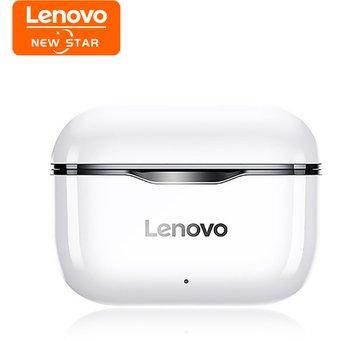 Linio: Lenovo Auriculares LP1 Audifonos Bluetooth-Blanco