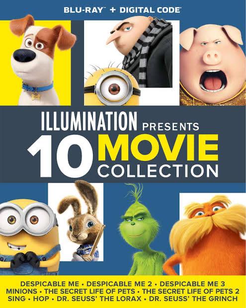iTunes: Mi villano favorito, Sing y más. Colección de 10 películas de illumination