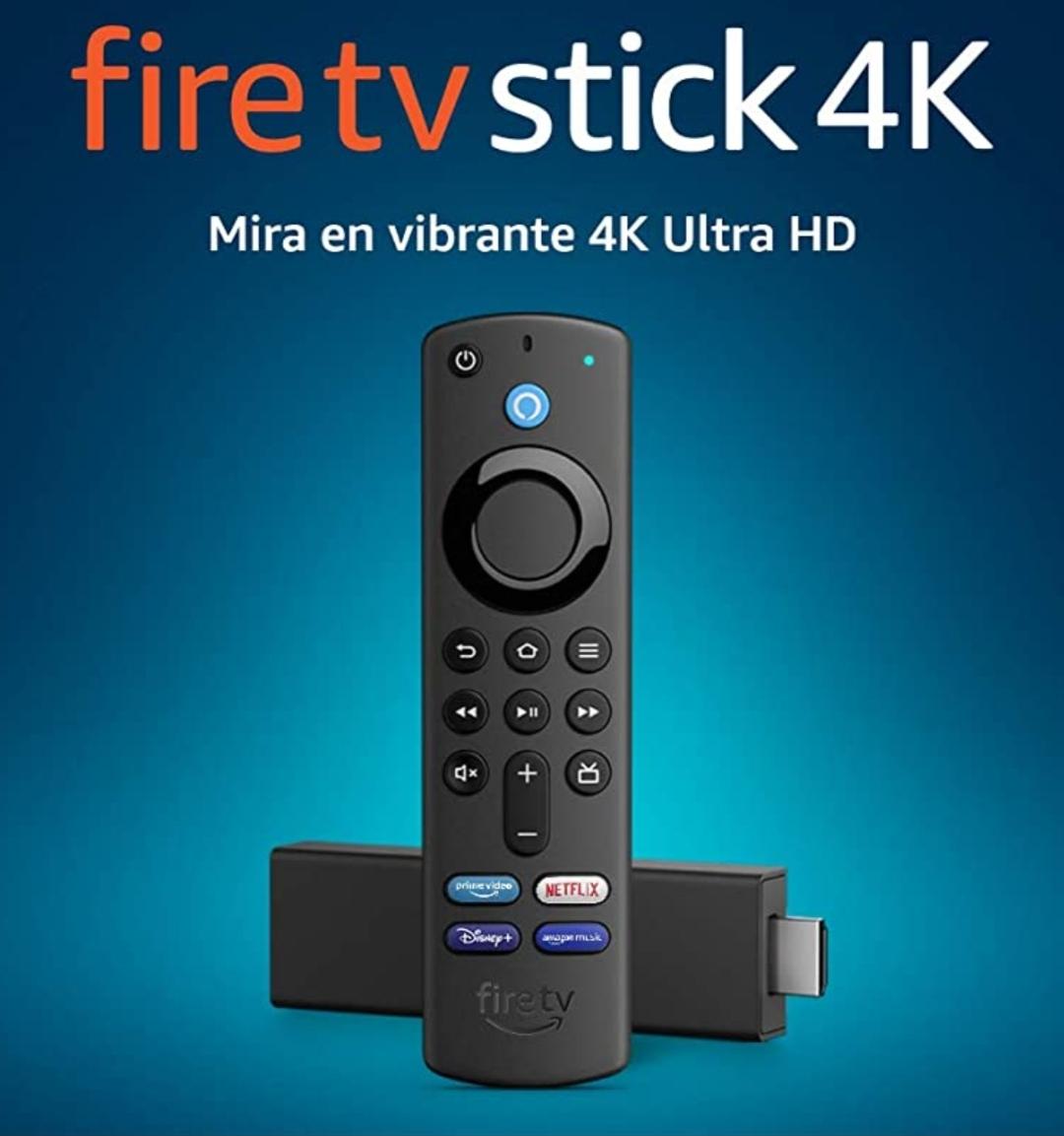 Chedraui: Fire TV Stick 4K con control remoto por voz Alexa (incluye control de TV) y Dolby Vision (pagando con HSBC)