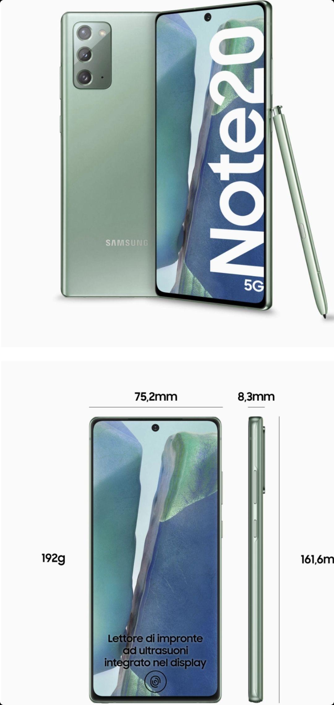 Doto: Samsung Galaxy Note 20 256GB (Pagando con TDC DIGITAL HSBC)