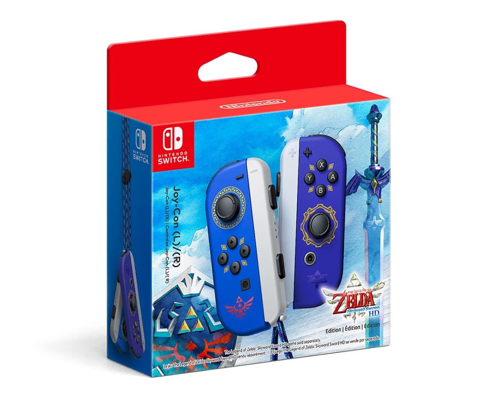 Coppel: Controles Joy-Con Nintendo Switch Edición The Legend of Zelda: Skyward Sword HD