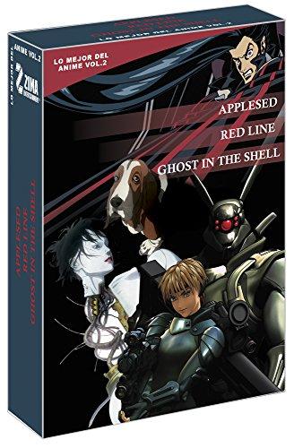 Amazon: Lo mejor del Anime Vol. 2, DVDs 3 películas