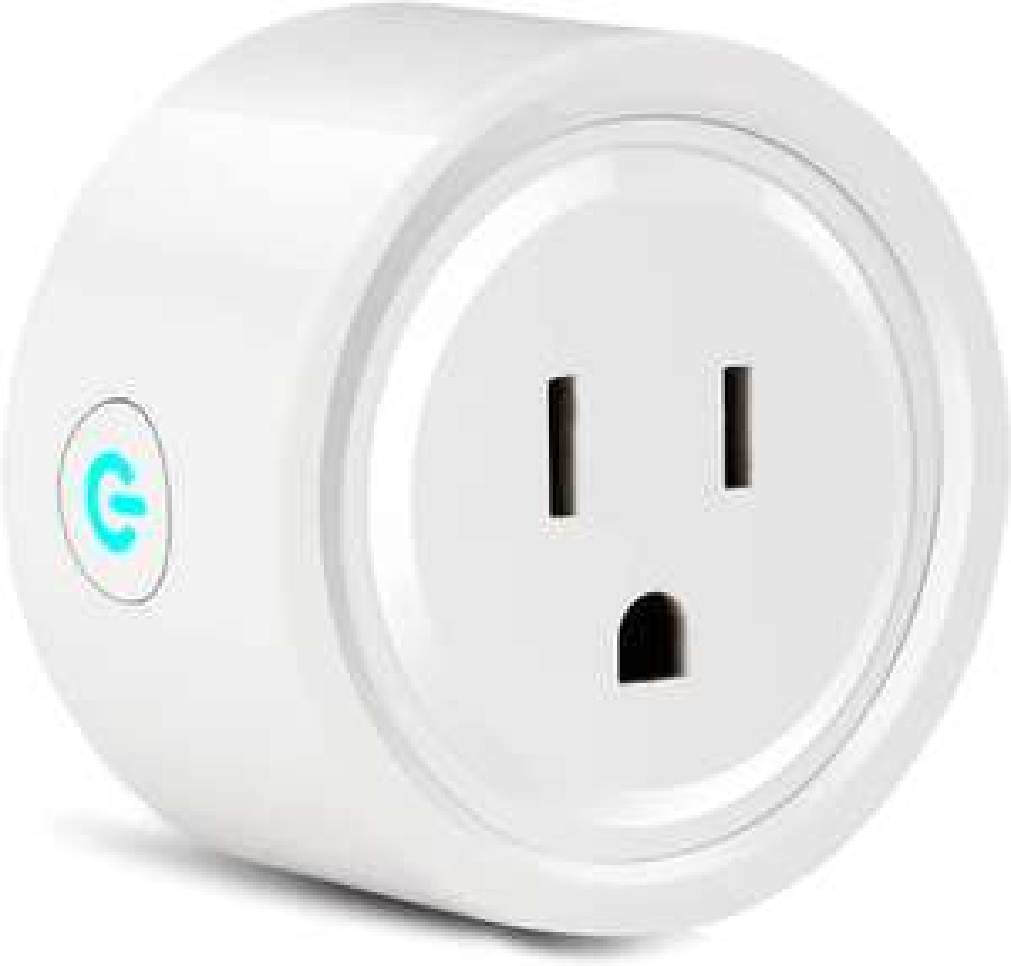 Amazon: Enchufe Inteligente Mini Smart Plug 1 Pack, funciona con Alexa, Google Home / IFTTT