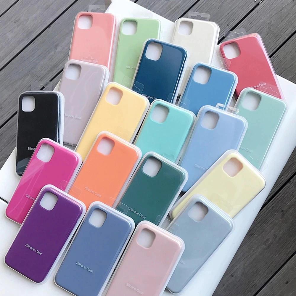 AliExpress: Funda de silicona Original oficial para iPhone, 11, 12 Pro, MAX, SE, 2020, XR, X, 6, 6s, 7, 8 Plus, 12, mini, XS, LOGO completo