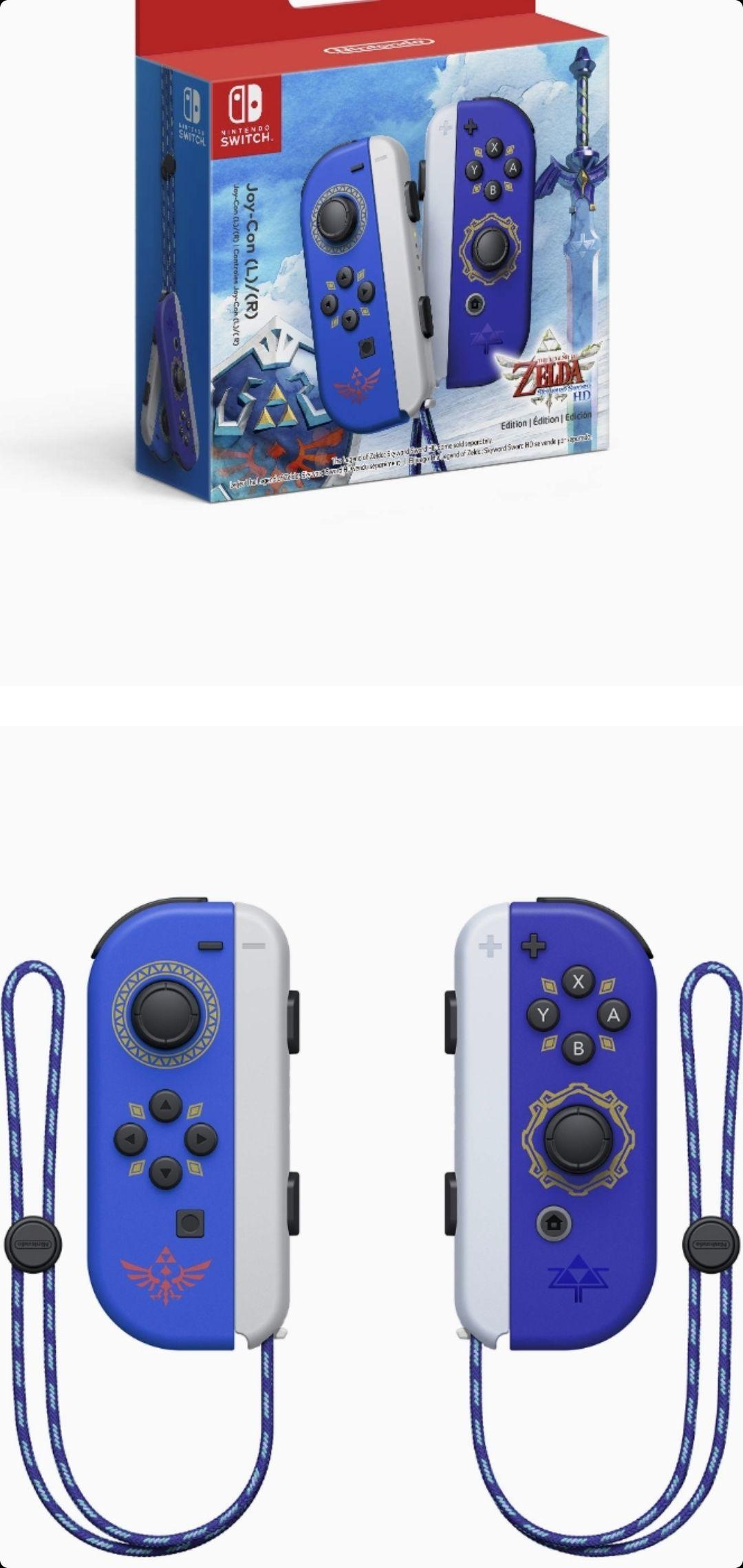 Chedraui: Control Nintendo Switch Joy-Con The Legend of Zelda: Skyward Sword HD Edition ( Amex )