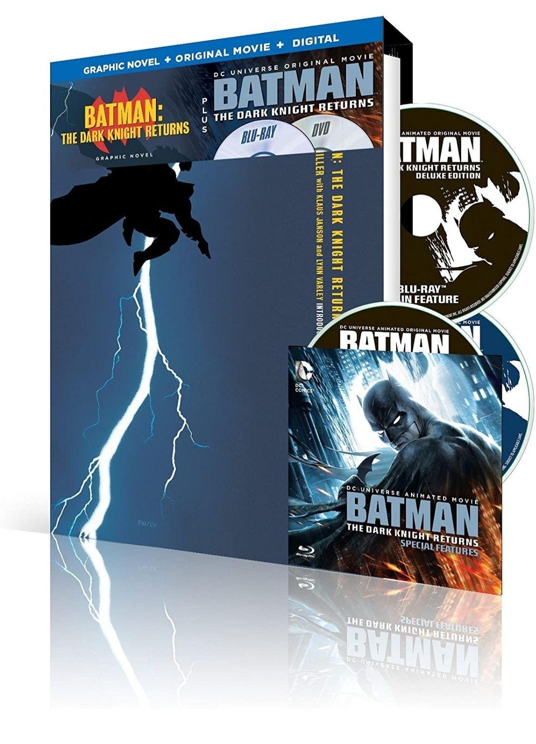 Amazon: The Dark Night Returns - Novela Gráfica, Bluray y Copia Digital