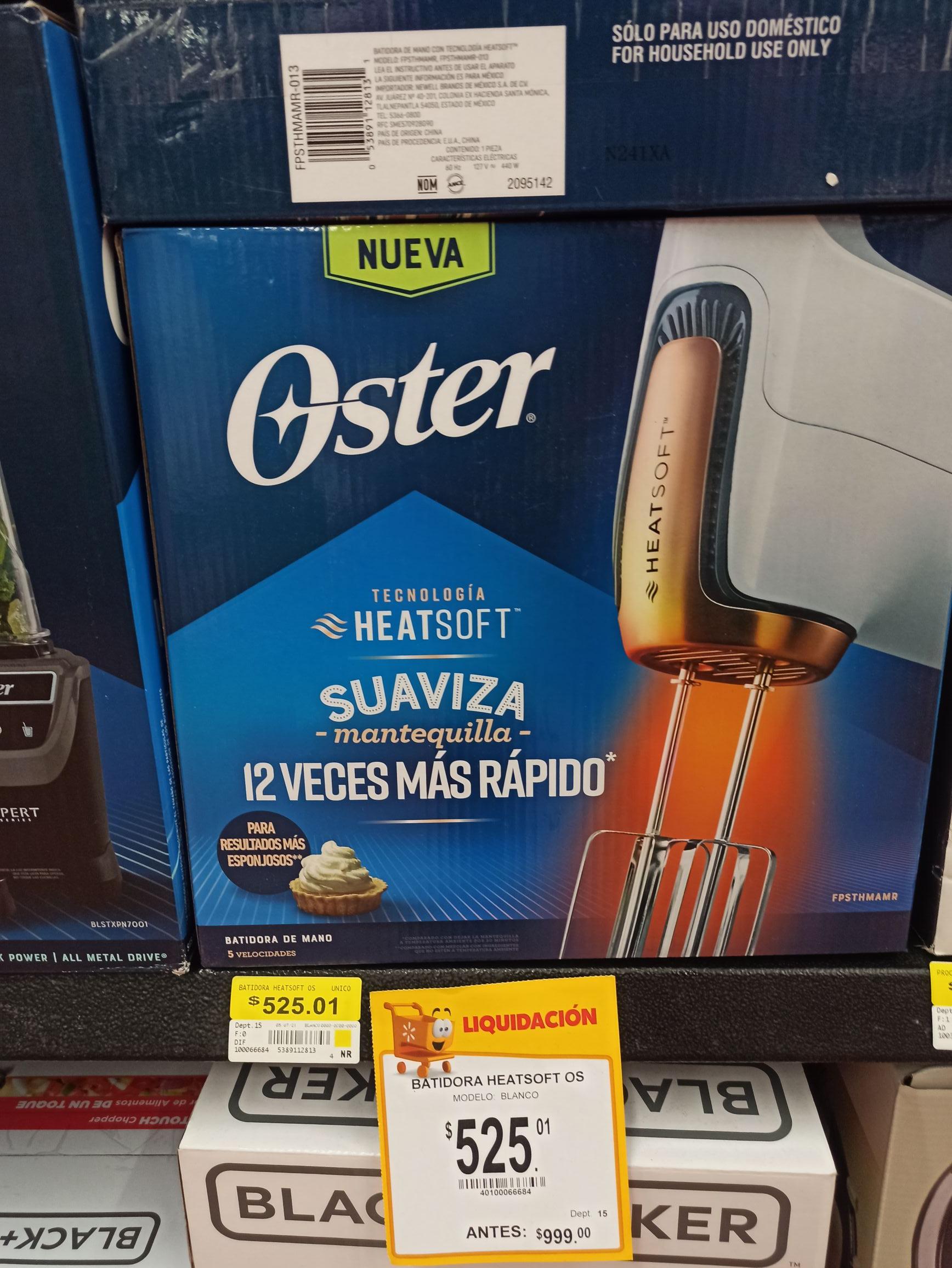 Batidora Oster Heatsoft - Walmart Mérida paseo de Montejo
