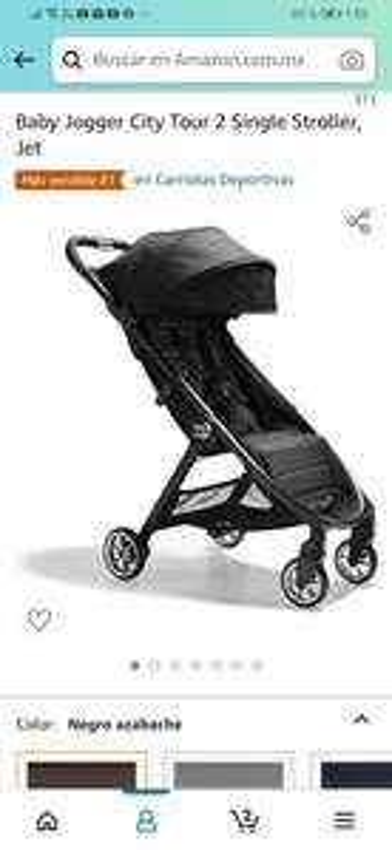 Amazon: Baby Jogger City Tour 2 Single Stroller, Jet