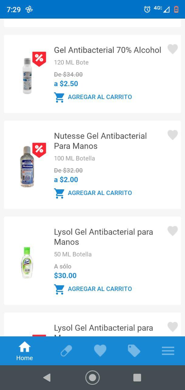 Farmacia San Pablo: Gel antibacterial