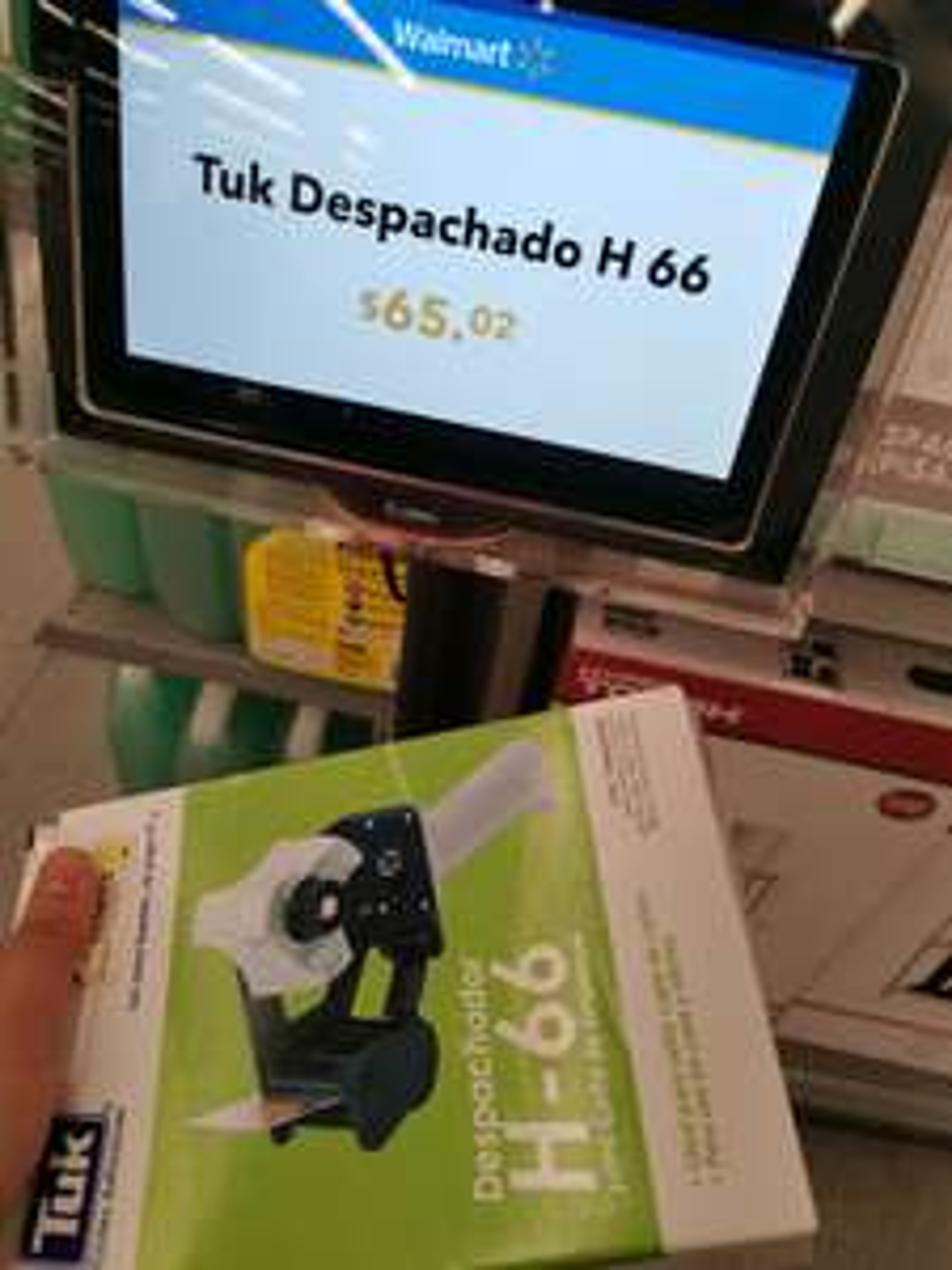 Walmart Despachador o Aplicador de cinta TUK