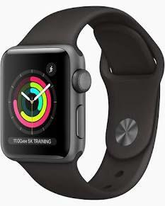 Costco: Apple Watch Series 3 (GPS) Caja de Aluminio Gris Espacial 38 mm con correa deportiva negra