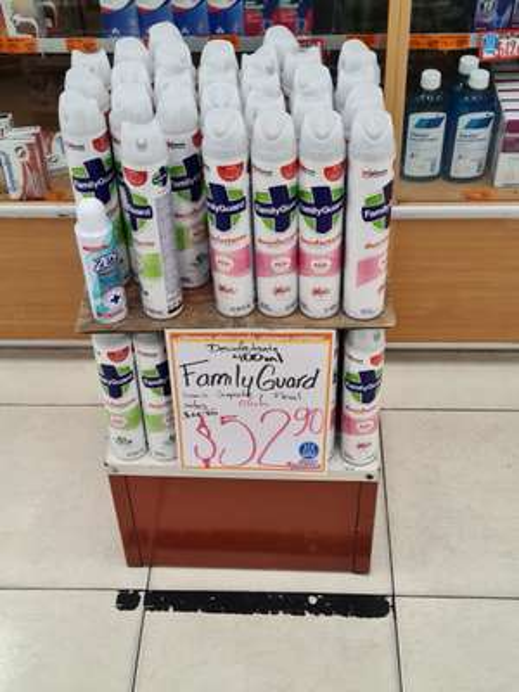 Desinfectante Family Guard - Farmacias Guadalajara