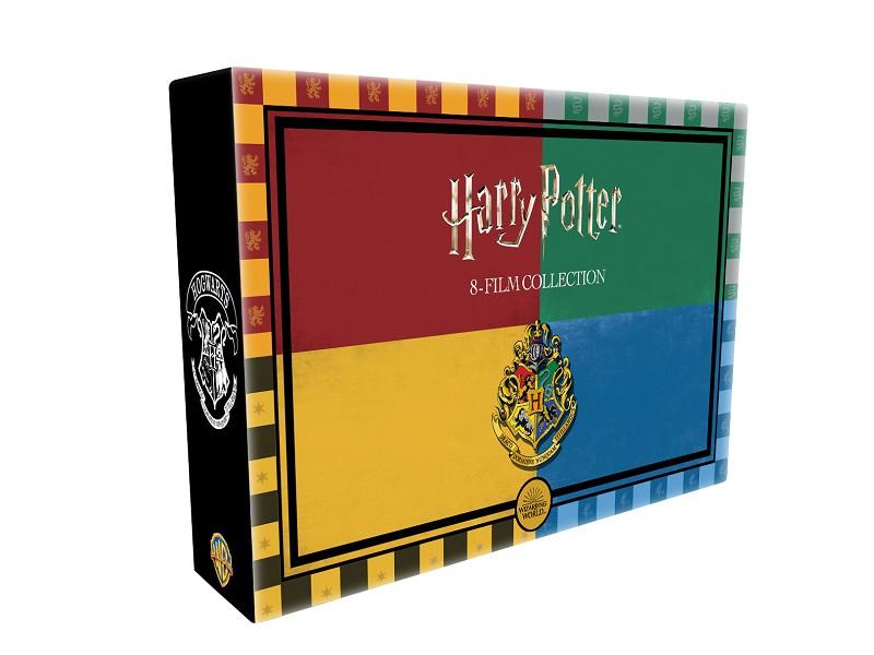 Liverpool: Colección completa películas Harry Potter (8 bluray)