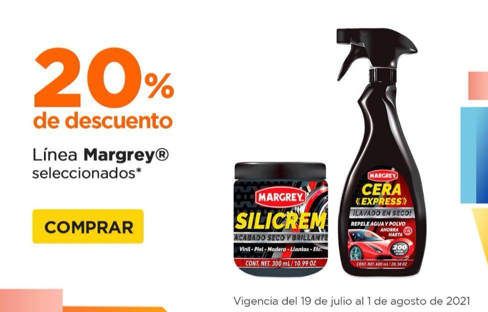 Chedraui: 20% de descuento en productos Margrey seleccionados
