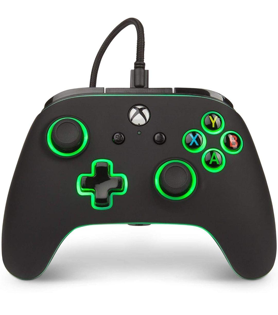 Amazon: Control alámbrico PowerA Spectra para Xbox One & Series X S - Standard Edition