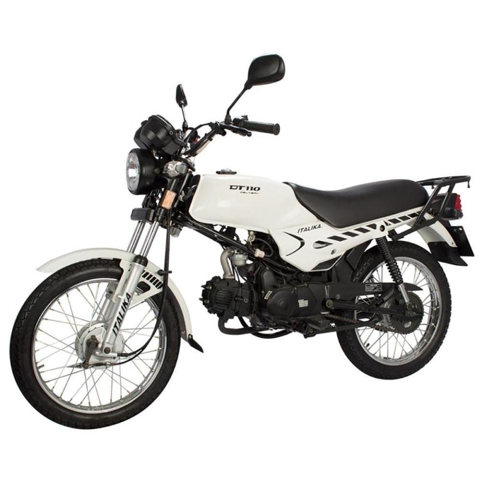 Walmart: Motocicleta Italika DT 110cc Blanca 2021