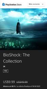 Playstation store: BioShock: The Collection