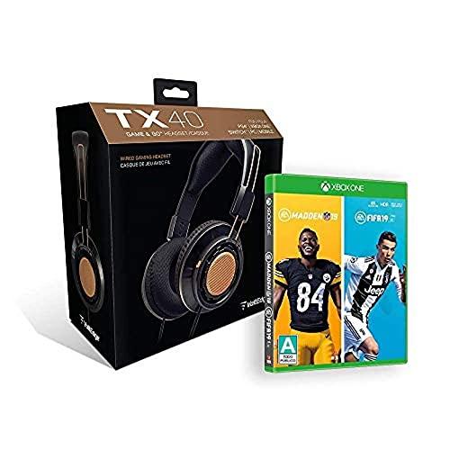 Amazon: Audifonos + FIFA 19 + MADDEN NFL 19 - Xbox One