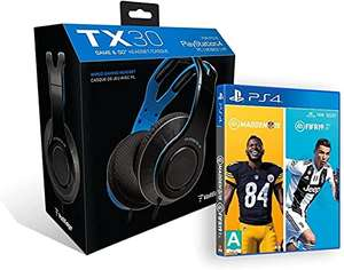 Amazon: Voltedge TX30 + FIFA 19 + MADDEN NFL 19 - PlayStation 4 - Bundle Edition