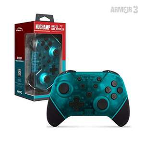 "Amazon: Armor3 ""Nuchamp"" Wireless Game Controller for Nintendo Switch/Lite (Turquoise) - Nintendo Switch"