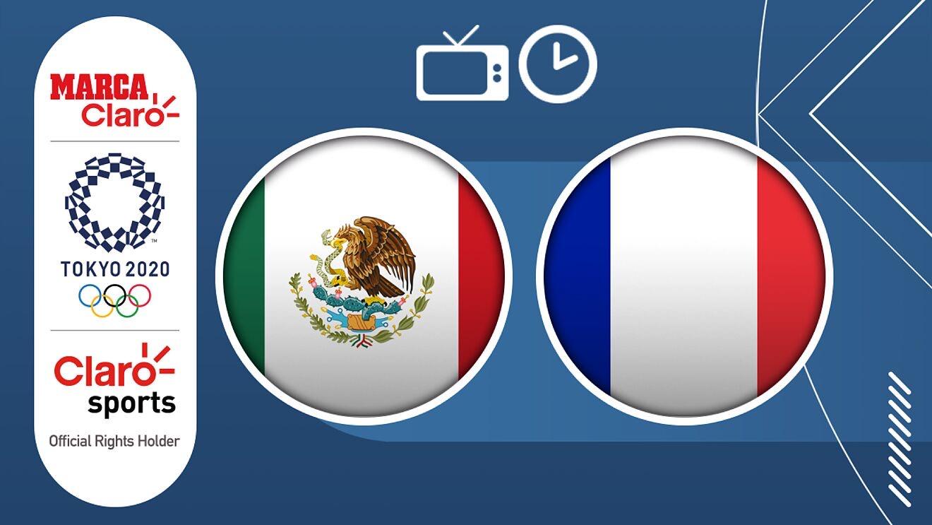 Transmisión Mexico Francia Fútbol Olímpico