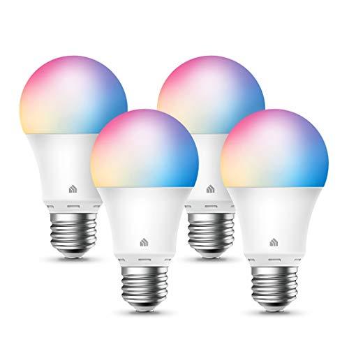 Amazon: Focos inteligentes LED Kasa TP-Link 4 Pack