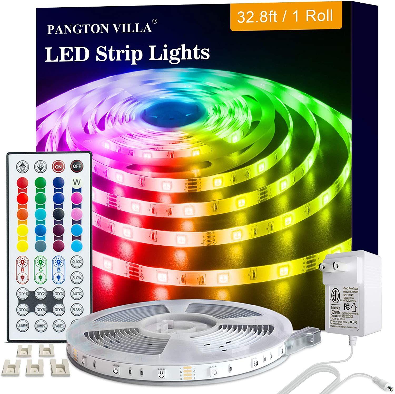 Amazon: Luces Led 10 Metros, Tira Led RGB con Control Remoto, Luces Led para Cuarto Decorativas 10M
