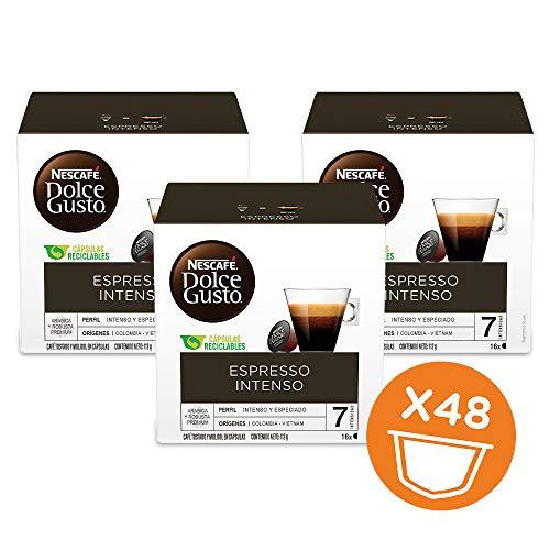 Amazon: 3 cajas de Espresso Intenso Dolce Gusto