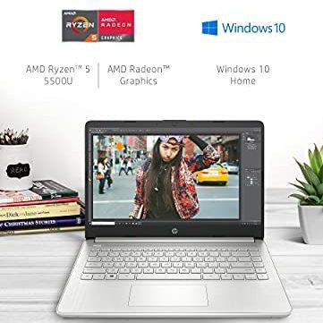 Amazon: HP 14 Laptop, Ryzen 5 5500U, 8GB/256GB, Full HD, Wi-Fi 6 (con HSBC)