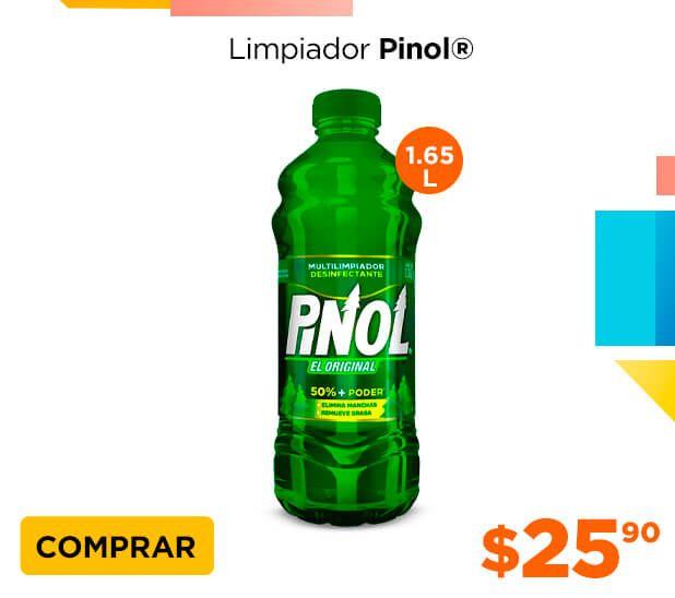 Chedraui: Limpiador Multiusos Pinol 1.65 L $25.90