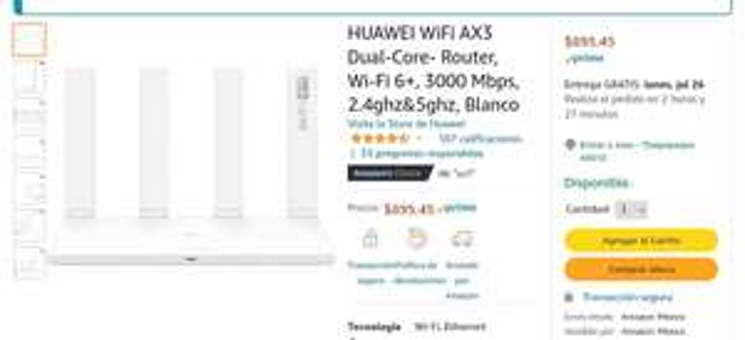 Router Huawei ax3 Dual core