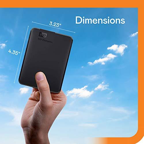 Amazon: Disco duro portátil Western Digital de 2TB