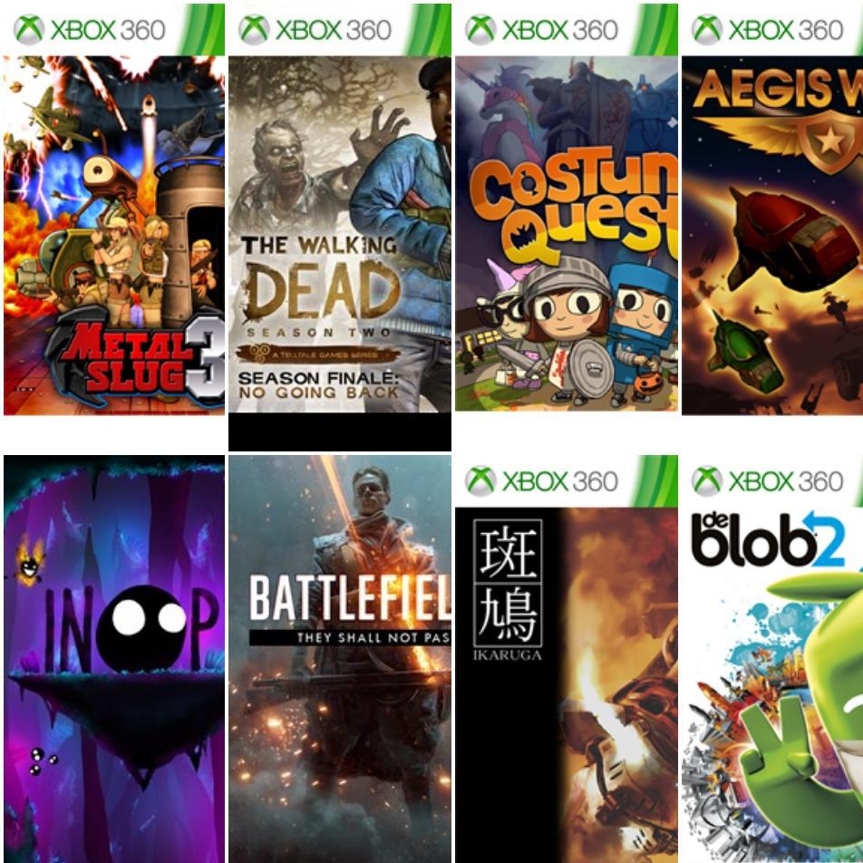 Recopilación de Juegos GRATIS Para Xbox One / Series X|S