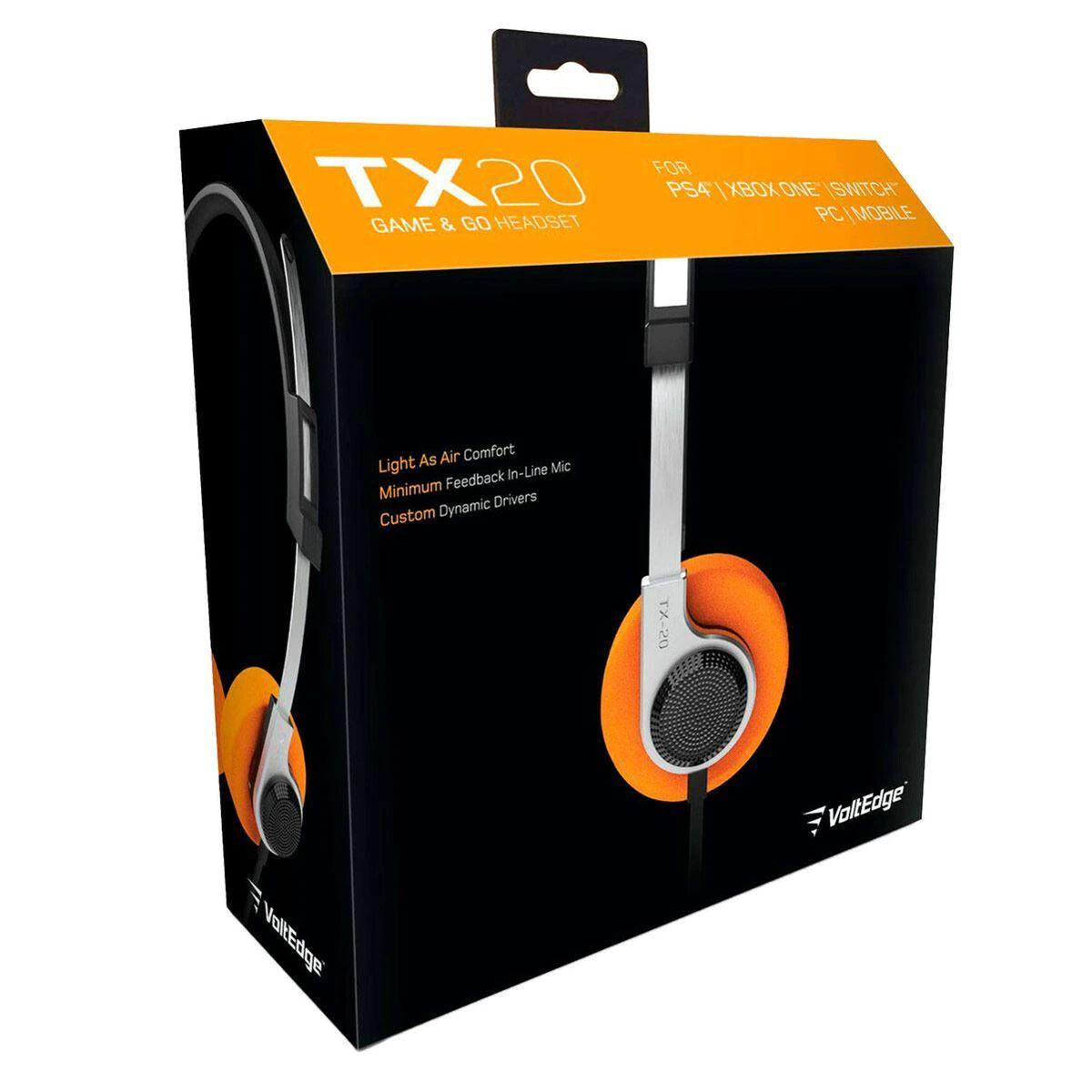 Sanborns, Headset Gamer VoltEdge TX20 Universal (Para que te sientas StarLord)