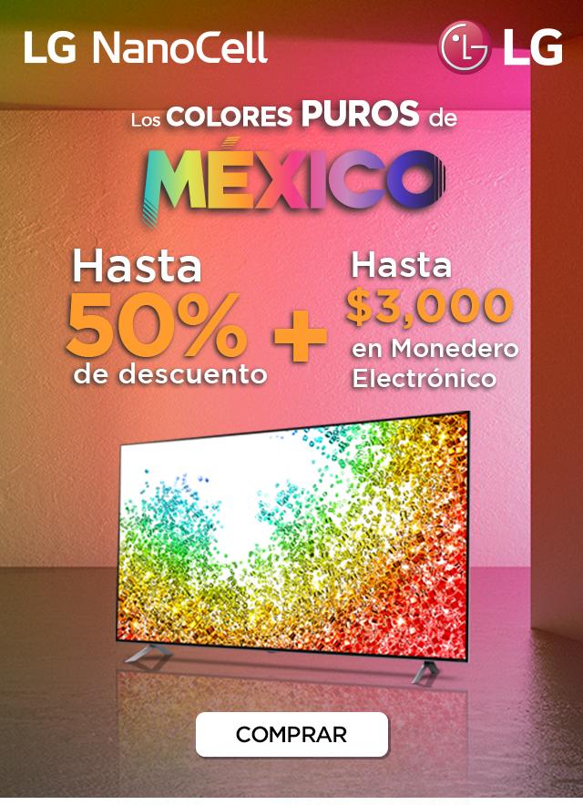 Promo pantallas LG NanoCell: recibe hasta $3,000 en monedero electrónico