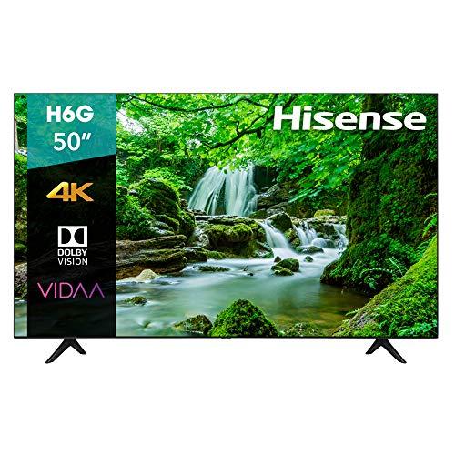 "Amazon: Hisense 50"" VIDAA 4K UHD Smart TV con Dolby Vision HDR 50H6G (2020)"