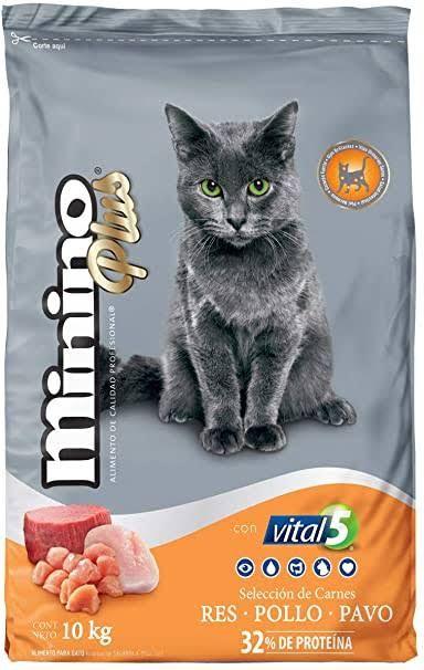 Laika: Minino Plus 10 kg + 1 lata de Wiskas
