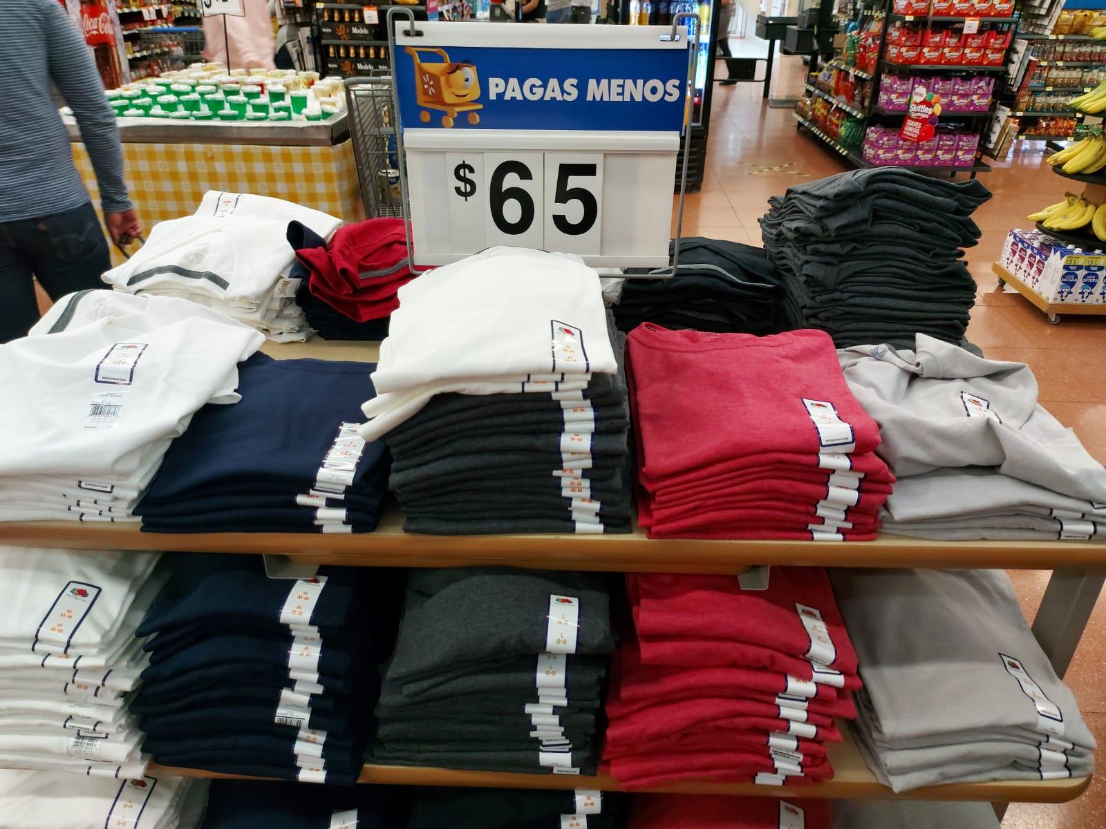 Walmart: Fruit of the loop, pants, playeras y sueters