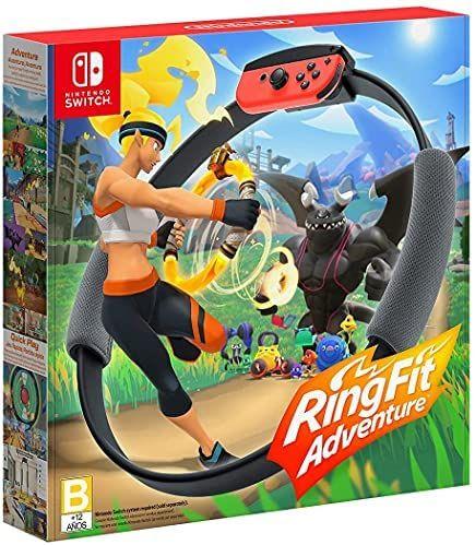Amazon: Ring Fit Adventure - Standard Edition - Nintendo Switch