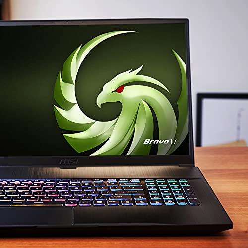 Amazon: Laptop MSI Bravo 17'' 144Hz IPS-panel Ryzen 7 4800H AMD RX5500M