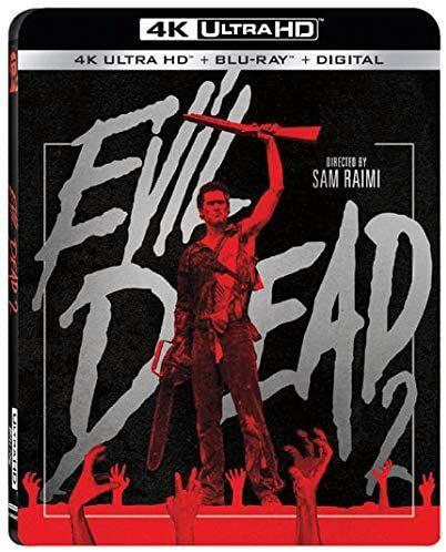Amazon: Evil Dead 2 Blu-ray 4k + Blu-ray +Copia Digital