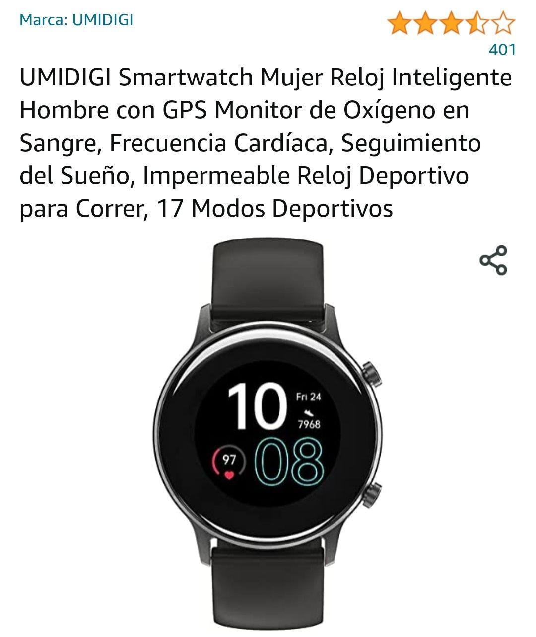 Amazon: UMIDIGI Urun Smart Watch