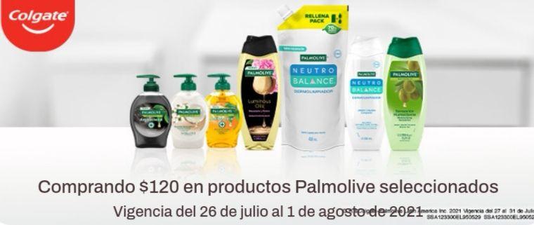 Chedraui: Envío gratis de tu súper en la compra mínima de $120 en productos Palmolive y Stefano seleccionados