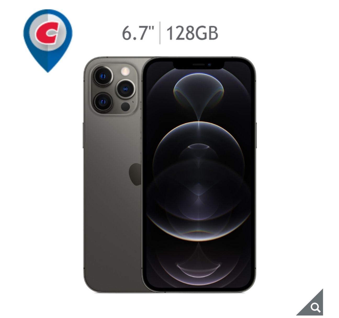 Costco: iPhone 12 pro max Telcel grafito con TDC Costco Citibanamex