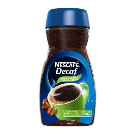 Sam's Club: Café Soluble Nescafé Decaf Sin Cafeína 300 g