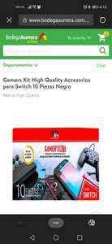 Bodega Aurrera: 10 accesorios para Nintendo Switch
